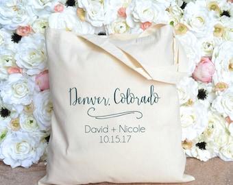 Denver, Colorado Destination Wedding Welcome Bag