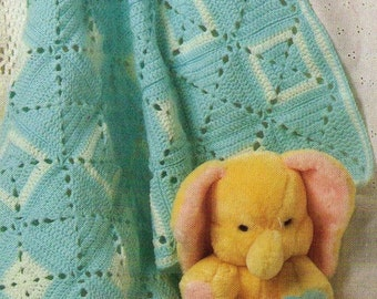 PDF Crochet Baby Afghan Pattern