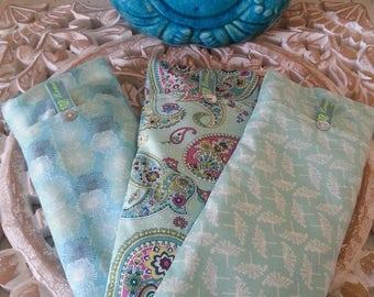 Soothing Lavender Eye Pillows - Greens