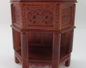 Miniature Dollhouse Or Room Box Tudor Side Cabinet 1:12 Scale Jbm J5016