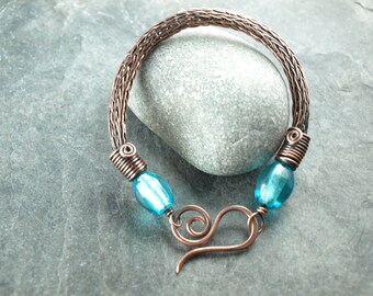 bracelet viking knit,wire work