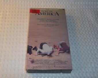 LOST In AMERICA VHS Albert Brooks Comedy Lost Nest Egg In Las Vegas Vintage 1980's video