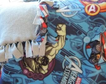No-Sew Fleece Blanket, Marvel