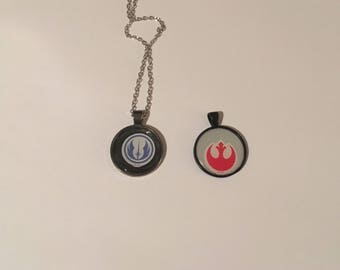 Star wars cameo necklaces 1 or both