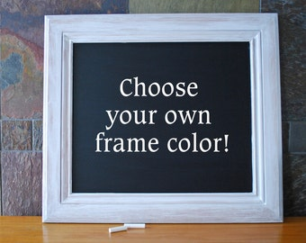 Framed Chalkboard, Wedding Chalkboard, Chalkboard Sign, Rustic Chalkboard Frame
