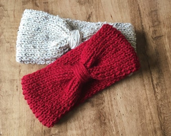 Earwarmer. Knit Earwarmer. Winter Accessories. Womens Accessories. Handmade Earmwarmer.