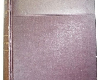1876 Leipsic Edition Life & Letters of Lord Macaulay Scarce!