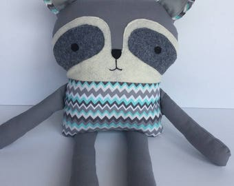 Toy Raccoon, stuffed toy raccoon, plush toy