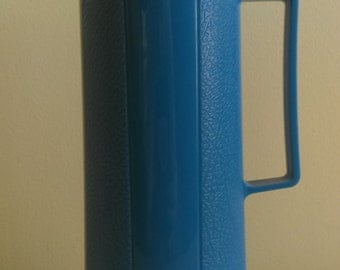 Vintage Light Blue Thermos.