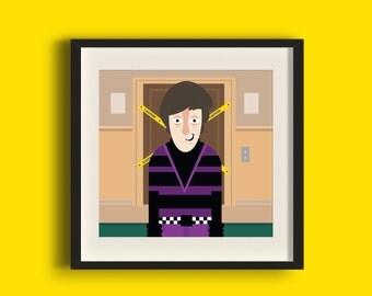 Howard Wolowitz - Big Bang Theory Art Print