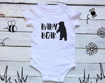 Baby Bear Onesie, Papa Bear Baby Bear Mama Bear, Baby Bear Onesie, Little Bear, Baby Shower gift, Brother Bear, Sister Bear, Bear Onesie