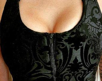 yoga bra, Post Surgery compression bra, black sexy activewear bra, sports bra, comfort sexy compression garments, butterfly bra