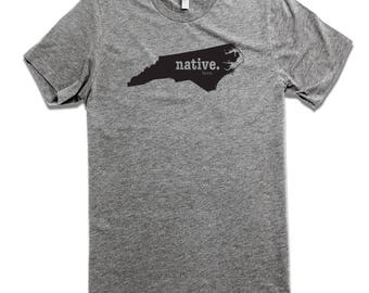 The North Carolina Native Born.  The North Caroline Home Tee Shirt, North Carolina T-Shirts, North Carolina Apparel, North Carolina Clothing