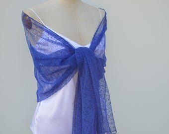 Clearance 30% Royal cocktail, elegant lace scarf lace shawl