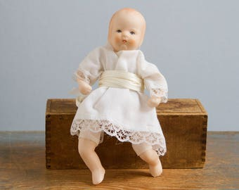 Vintage Porcelain Russ Berrie Baby Doll