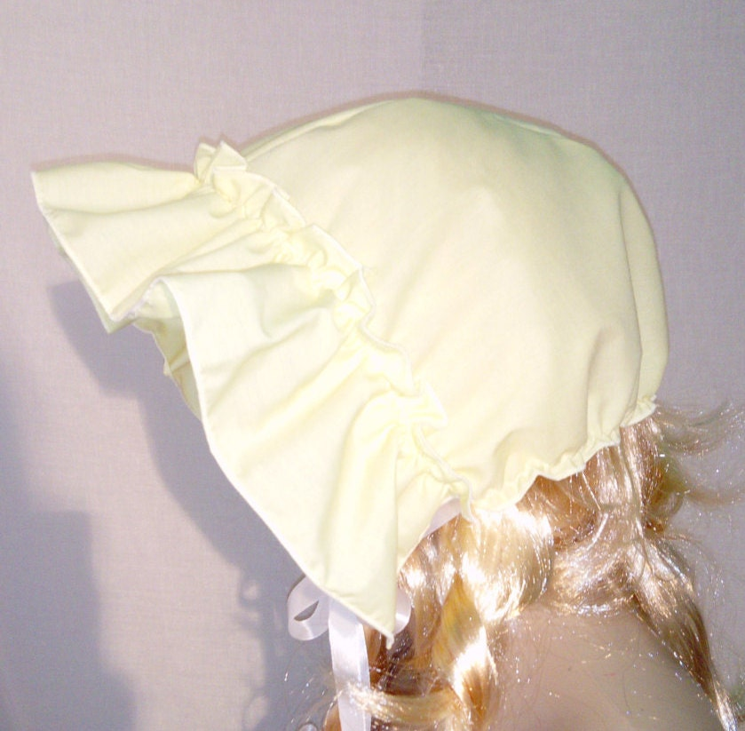 how to make a baby bonnet for adults