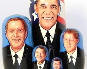 Nesting doll #522 Obama