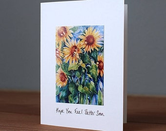 Handmade Feel Better Photo Card