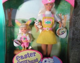 Mattel Vintage Barbie and Kelly Easter Egg Hunt Barbie Doll