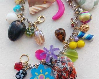 Crazy Colorful Collection Charm Bracelt