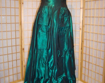 Fabulous Green Evening Dress