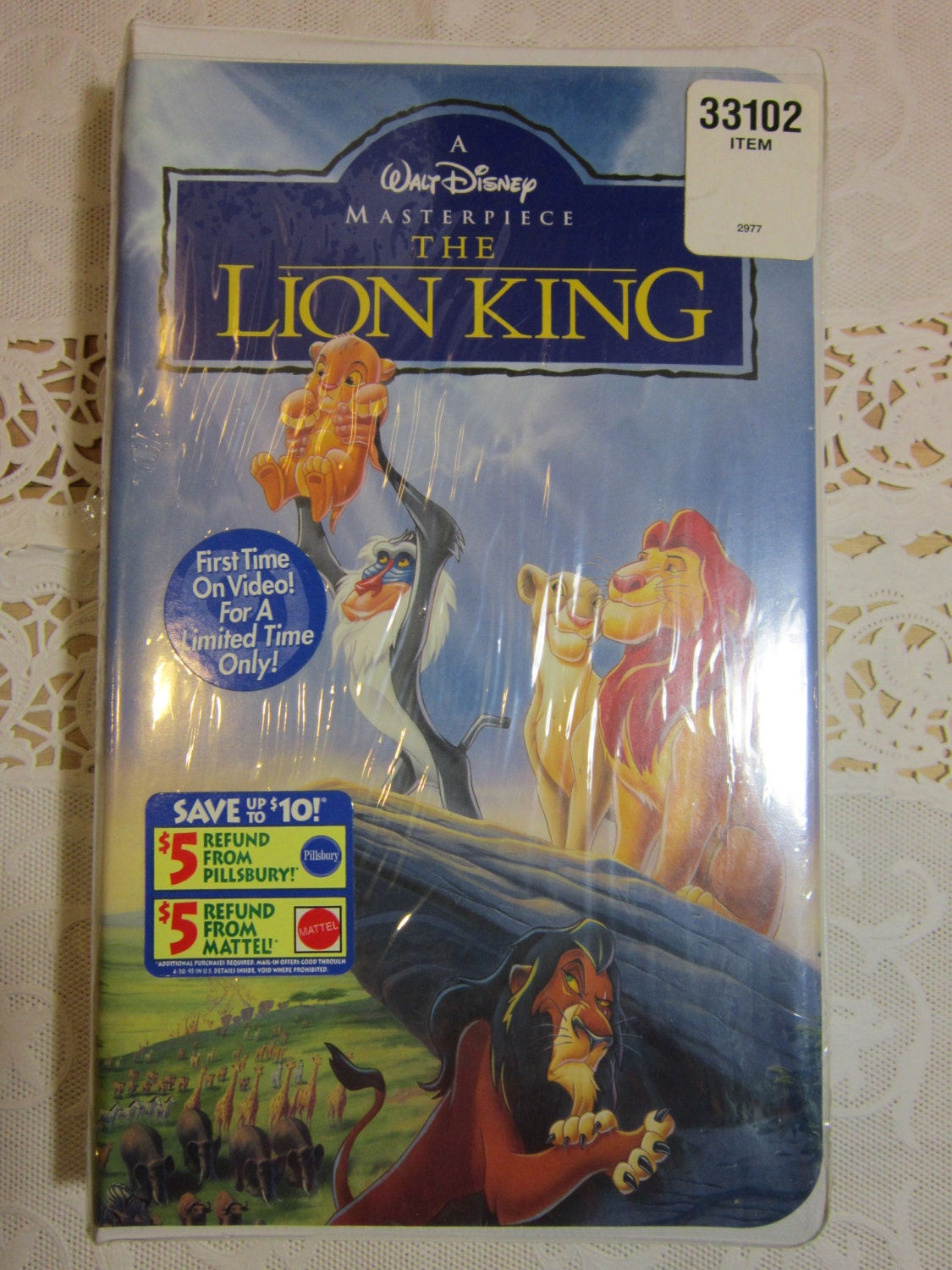 new and factory sealed walt disney u0026 39 s the lion king