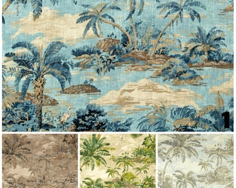 Window curtains beach curtains exotic curtains custom curtains rod curtains palms curtains beach drapes exotic drapes beach home decor