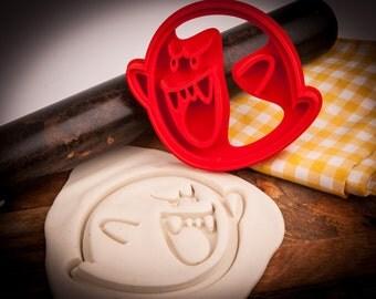 Super Mario Boo Ghost cookie cutter