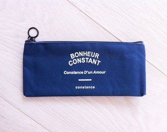 Cute Iconic pencil case - navy | Cute Stationery