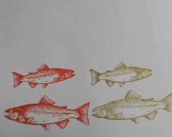 Salmon Fish Die Cuts