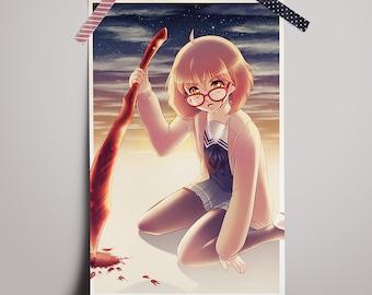 Print - Mirai Kuriyama (Beyond the Boundary aka Kyoukai no Kanata)
