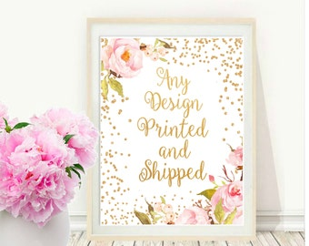 Paper Storm Prints - Any Design Printed And Shipped
