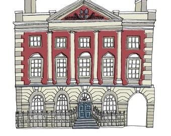 Mansion House York Print