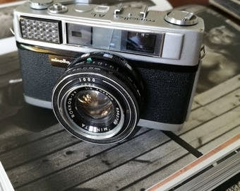 Minolta AL With New Light Seals. Ready-To-Use Vintage 1960s Rangefinder Camera
