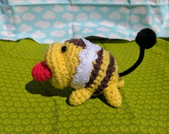 Buzzing Poochy Yoshi's woolly world