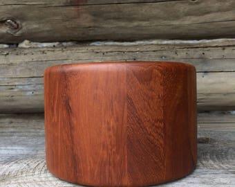 Danish Modern Richard Nissen Denmark Teak Wood Ice Bucket
