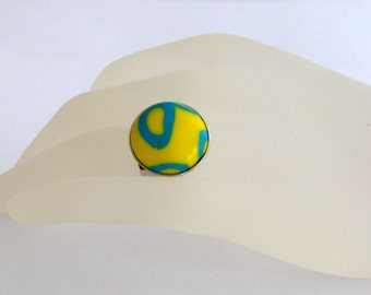 Ring made from polymer CLAY