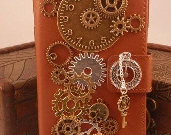 Steampunk iPhone 7 Wallet/Case