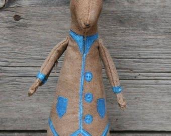 Mr Harvey Oppit, Rabbit, Hare, Bunny, Animal Sculpture