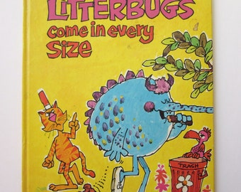 Litterbugs Come in Every Size, Golden Book, Norah Smaridge, Charles Bracke