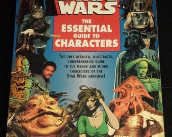 Vintage 1995 First Edition Star Wars: The Essential Guide to Characters
