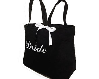 Bride Tote Bag - Personalized Tote Bags - Monogrammed Tote Bags - Monogrammed Totes - Wedding Totes - Bridesmaid Totes