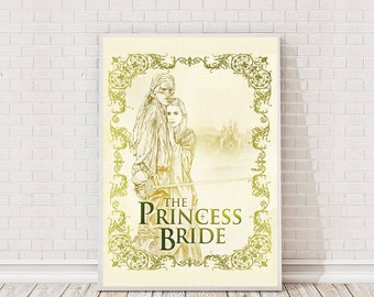 The Princess Bride Poster Art Film Poster Classic Movie Poster