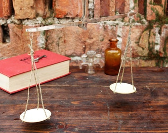 Apothecary Scale - Apothecary Balance Scale - Weighing Scale - Handheld Scale - Vintage Apothecary - Vintage Scale - Hanging Scale