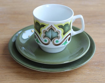 Hostess tableware 'Samantha' cup, saucer and plate trio