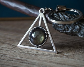Triangle Keyring, different colours