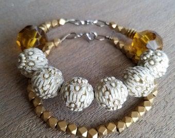 Golden Bracelet Duo
