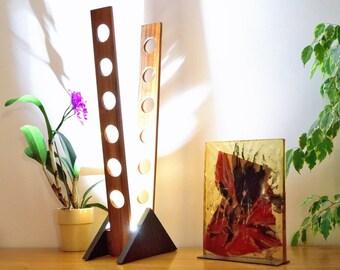 ROCANA: Teak and Oak lamp