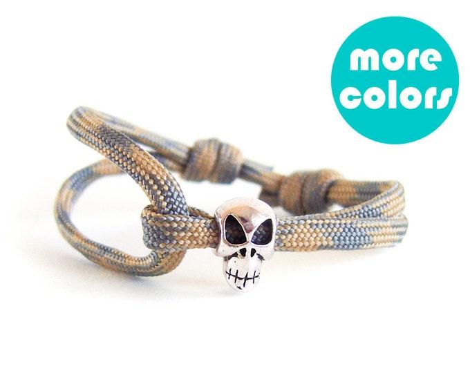 Skull Gifts For Him, Skull Bracelet For Men, Skull Jewelry, Skull Bracelets For Men