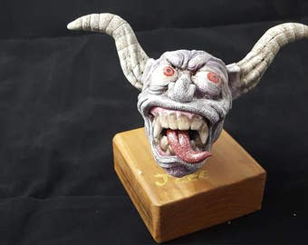 demon sculpture/creature sculptures/monsters
